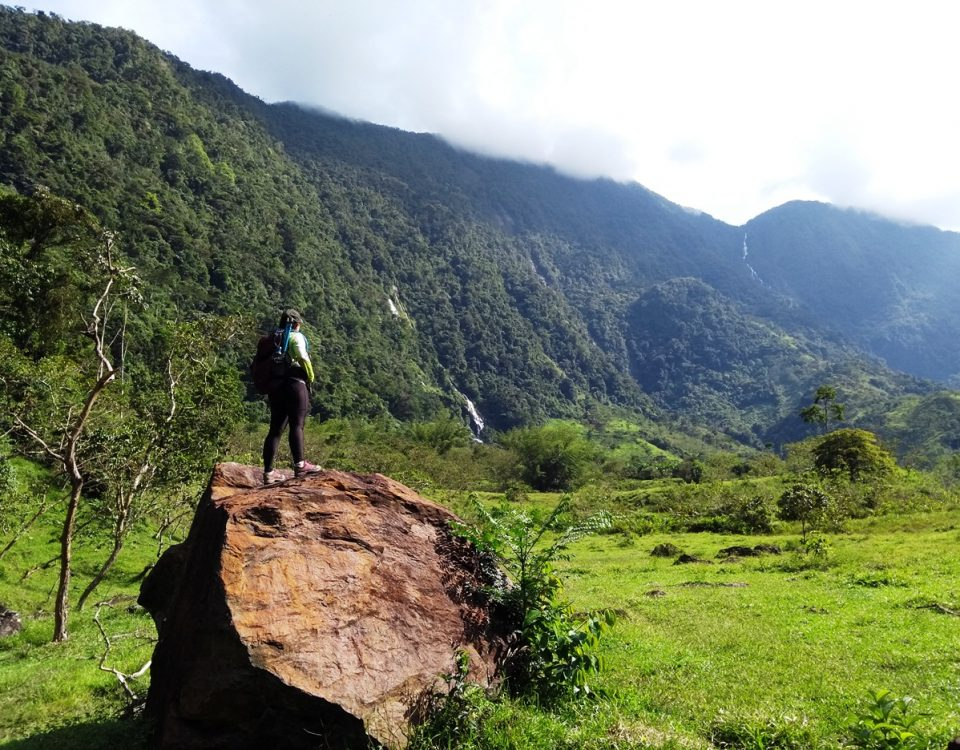 hiking colombia